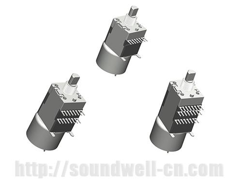 香港RM16X3带马达电位器