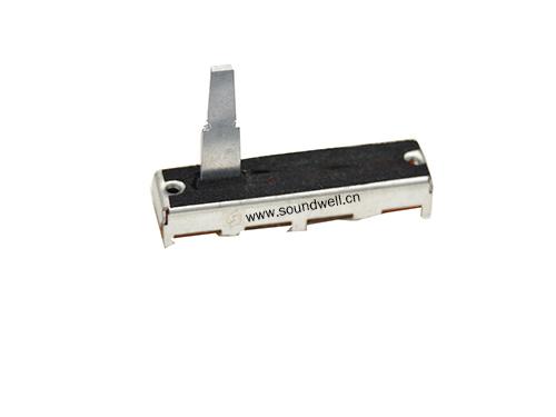 20MM行程直滑电位器金属柄单联直滑电位器