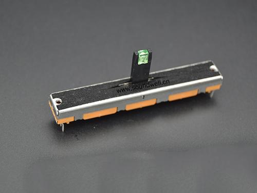 广东单联直滑电位器45mm行程电位器